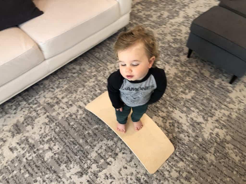toddler balance board