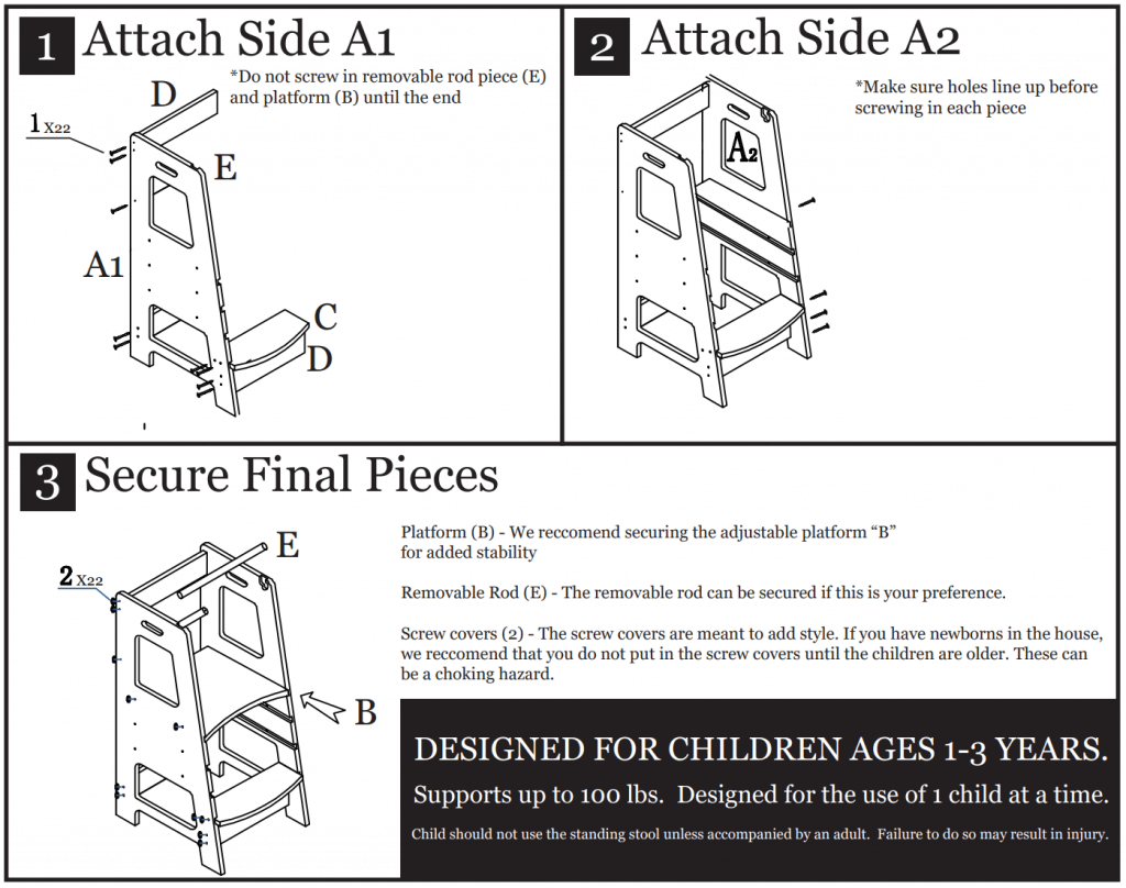 Kidwerks assembly instructions