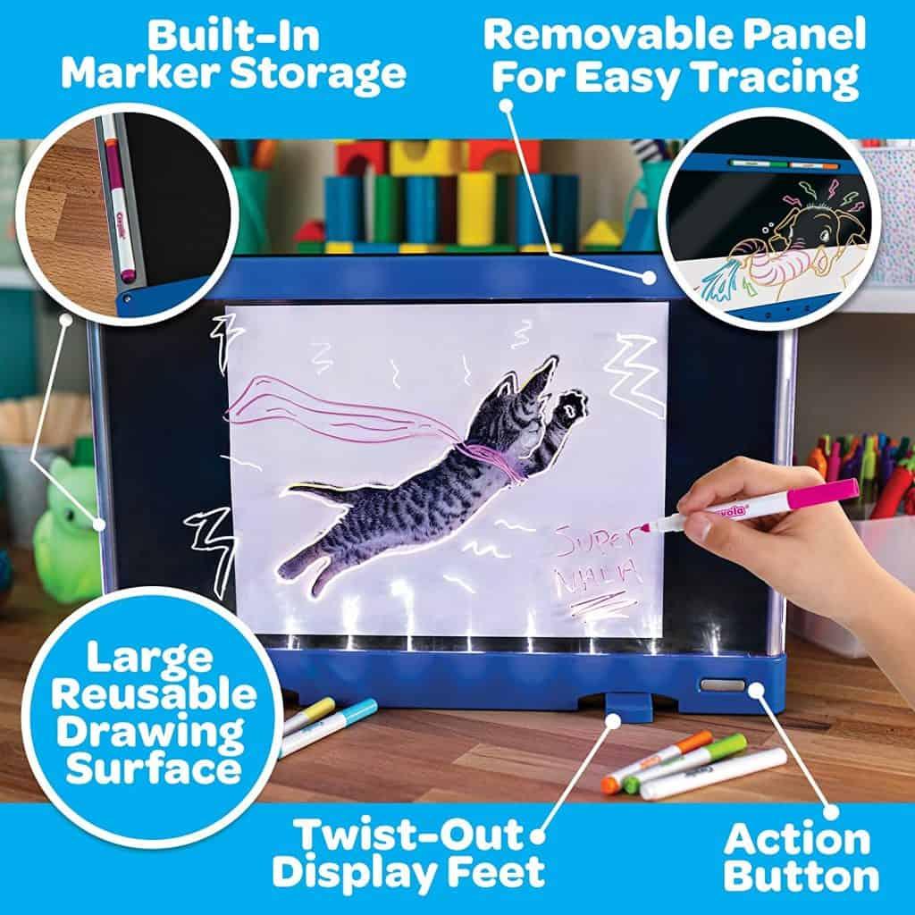 crayola ultimate light up board drawing board doodle board 2